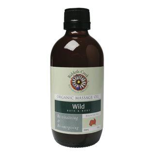 Riddells Creek Organic Wild Bath & Body Massage Oil - 200ml