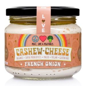 [] Peace Love Vegetables French Onion Cashew Cheese - 270ml (Refrigerated)