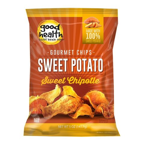 Good Health Snacks Sweet Potato Chips Maple Chipotle - 142g