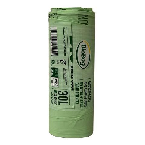 BioBag Compostable Bin Liners 30L (14 Pack)