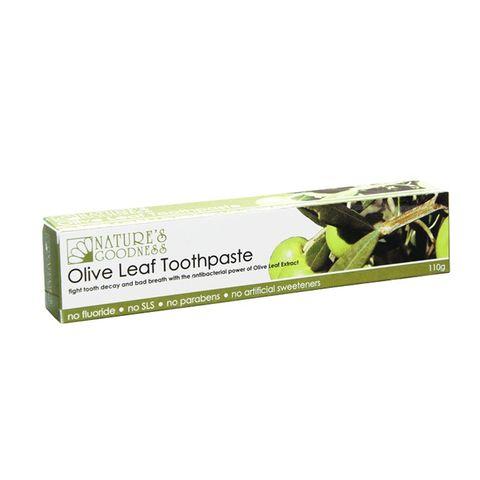 Natures Goodness Olive Leaf Toothpaste - 110g