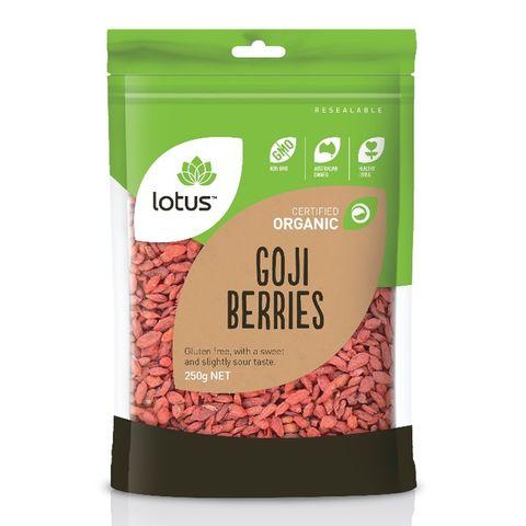 Lotus Organic Goji Berries 250G