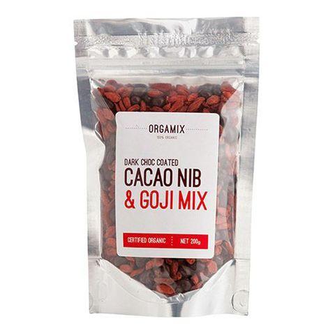 Orgamix Organic Cacao / Goji Mix - 200g