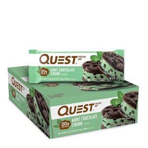 Quest Protein Bar Mint Choc Chunk - 12 x 60g