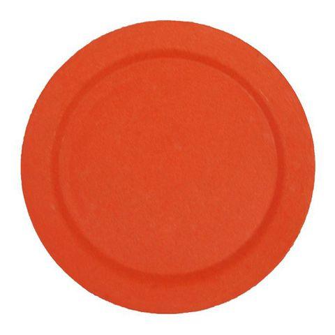 EcoSouLife Bamboo Main Plate (25cm) - Orange