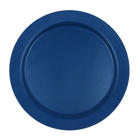 EcoSouLife Bamboo Main Plate (25cm) - Navy