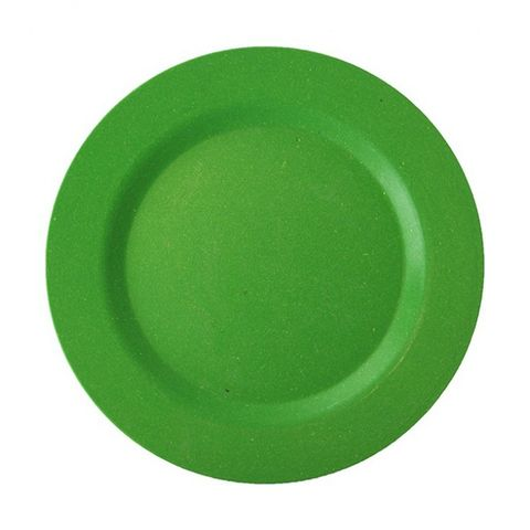 EcoSouLife Bamboo Main Plate (20cm) - Green
