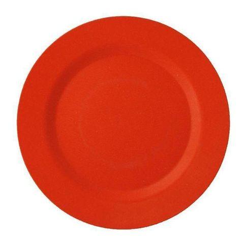 EcoSouLife Bamboo Side Plate (20cm) - Orange
