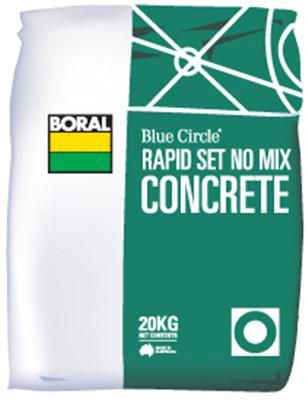RAPID SET CONCRETE MIX  20KG