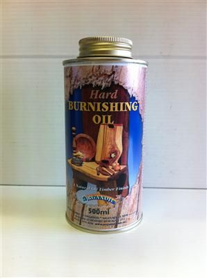 HARD BURNISHING OIL 500ML