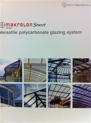 MAKROLON H BAR GLAZING CHANNEL TOP 5M