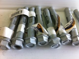 DYNA BOLTS GALVANISED