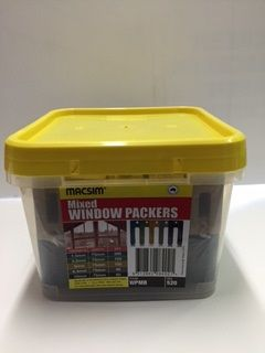 CARPENTRY WINDOW PACKER MIX BUCKET