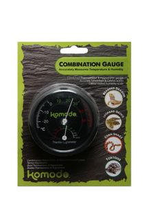 KOM COMBINED THERMOMETER & HYGROMETER AN