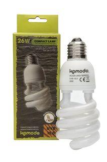 KOM COMPACT LAMP UVB 10% ES 26W