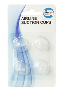 PA SUCTION CUPS AIRLINE 4pk