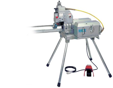 REX POWERED GROOVING MACHINES