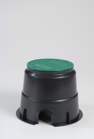 Round Economy Turf Box 6inch (150mm) w/Cover