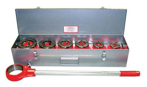 12R Hand Threader Set 1/2 -2 inch NPT DIES
