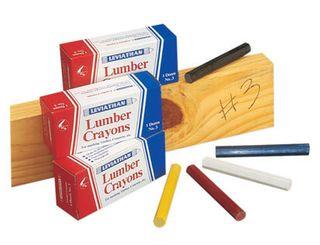 Lumber Crayon - Red  (Minimum Buy 12)