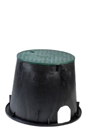Circular Round Valve Box 10inch w/- Cover