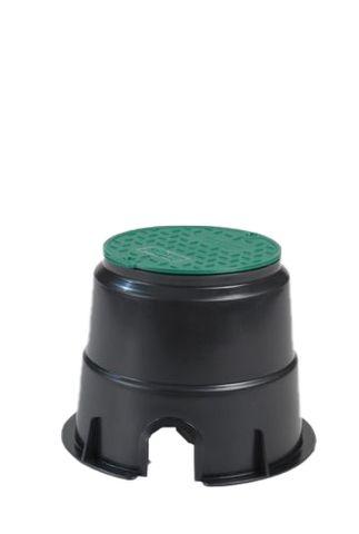 Round Economy Turf Box 6inch (150mm) w/Cover