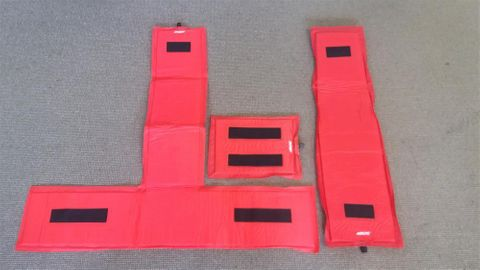 XXL Frame Protection Pad Inflatable Red