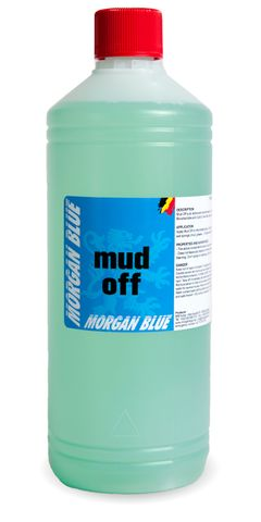 Morgan Blue Cleaner Mud Off 1000cc Bottle + Vapori