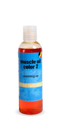 Morgan Blue Body Muscle Up Oil Colour 2 200cc bott
