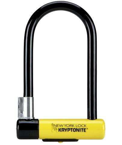 Kryptonite Lock New York U-Lock w/Bracket 4 x 8in