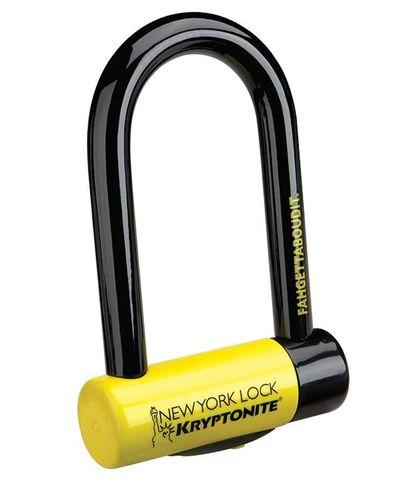 Kryptonite Lock New York U-Lock Fahgettaboudit Min