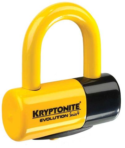 Kryptonite Lock Evolution Series 4 Disc Lock - yel