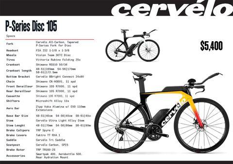 Cervélo 20 P Series Disc 105