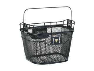 Topeak Basket Front Black Mesh w/ Fixer 3E