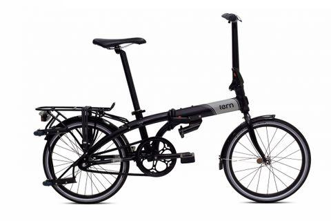 """Tern Rack Trolley Rear 20"""" Black w/ rear roller tr"""