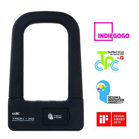 ULAC Tron-XD U-Lock Fingerprint 74mm x 128mm