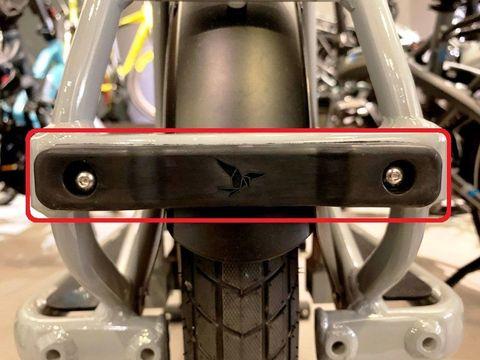 Tern GSD Frame Support Plastic Rectangular Plug