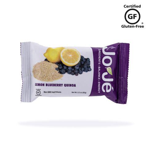 JoJé GF Lemon Blueberry Quinoa Bars