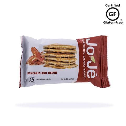 JoJé GF Pancakes and Bacon Bars