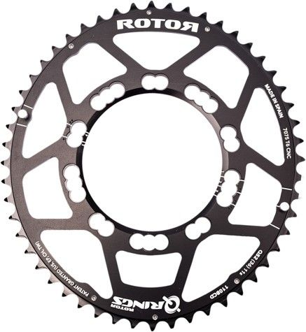 Rotor Chainrings Q Rings 110x5 Oval