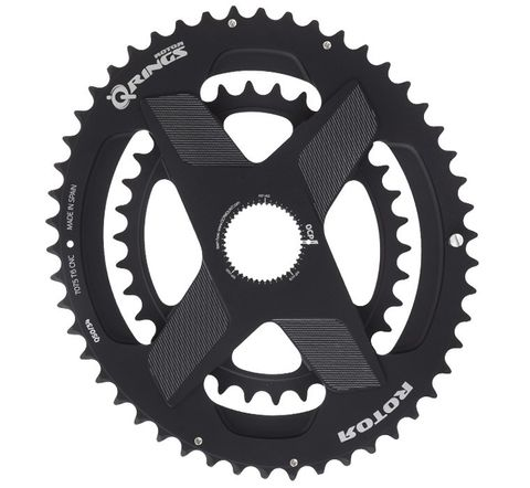 Rotor SpiderRing Q Rings Direct Mount Oval 2X