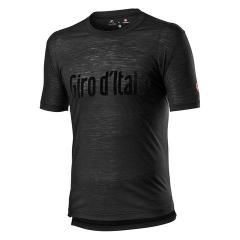 Castelli T-Shirt Giro Heritage Nero Vintage