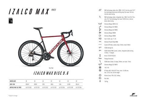 Focus 21 Izalco Max Disc 9.6 Ultegra Di2