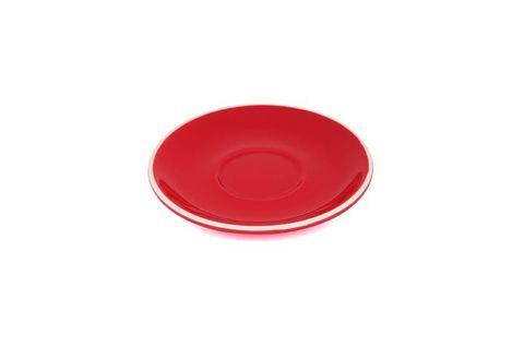 180ML/330ML CAPPUCCINO TULIP SAUCER ITALIAN SET OF 6 RED
