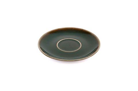 180ML/220ML CAPPUCCINO SAUCER BARISTA SET OF 6 REACTIVE OLIVE