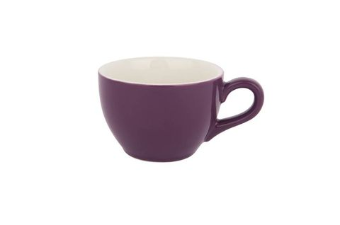 280ML CAPPUCCINO LARGE CUP BARISTA SET OF 6 PURPLE