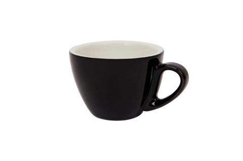 200ML CAPPUCCINO CUP SPECIALTY SET OF 6 BLACK