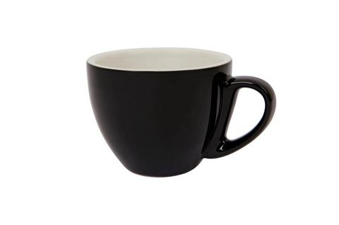 240ML CAPPUCCINO CUP SPECIALTY SET OF 6 BLACK
