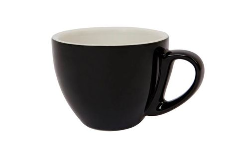 290ML CAPPUCCINO LARGE CUP SPECIALTY SET OF 6 BLACK