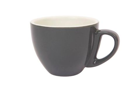 290ML CAPPUCCINO LARGE CUP SPECIALTY SET OF 6 DARK GREY